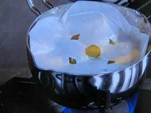 豚肉とかぼちゃのミルク煮
