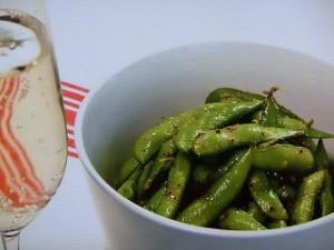 レモンチリガーリック味の枝豆