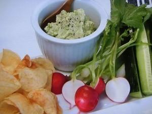 枝豆とクリームチーズのディップ