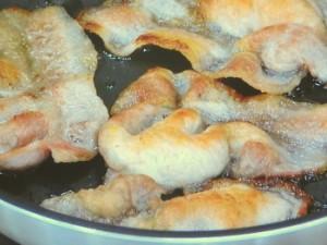 豚肉のピクルス炒め