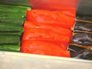 野菜の酸辣(さんらー)漬け