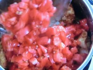 トマトと鶏肉のカレー