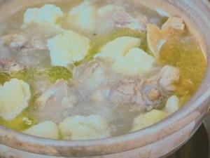 韓国風 鶏の水炊き