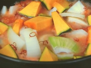 奥薗流トマトキムチ鍋