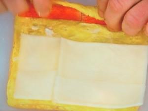 チーズ巻きたまご