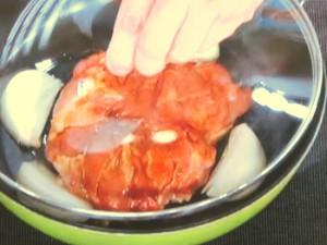 鶏のパプリカ風味