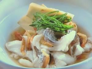鯛と筍のうま煮