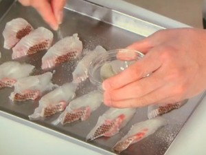 鯛のサラダ 磯風味