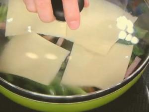 アスパラとチーズの黒こしょう風味