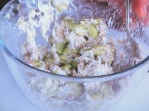 空豆とシラスのかき揚げ