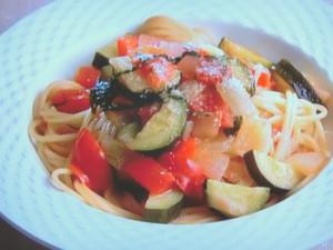 たっぷり野菜のスパゲッティー