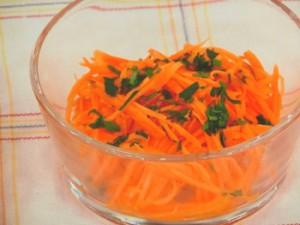 にんじんのオレンジドレッシング