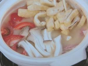 みそトマト鍋