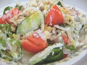 もこみち流 トルコ式いんげん豆のサラダ