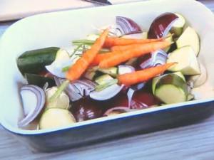 もこみち流 チキンウイングと野菜のオーブン焼き