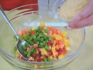 キヌアの栄養満点サラダ