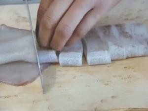 もこみち流 イカとホタテのピリ辛丼