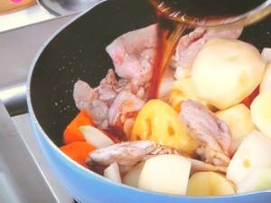 韓国風肉ジャガ