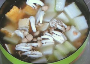 冬瓜とツナのうま煮