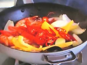 もこみち流 ムール貝とエビのチリ炒め