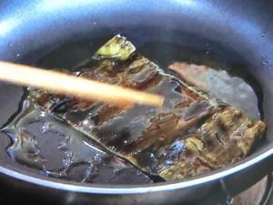 タイと昆布の揚げ焼き