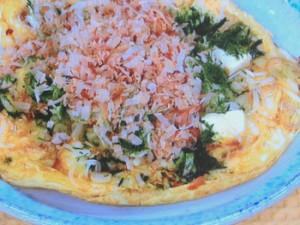 ピザ風!豆腐の卵焼き