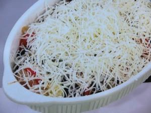 カラフル野菜のチーズグラタン