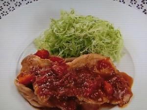 豚肉のトマト生姜焼き