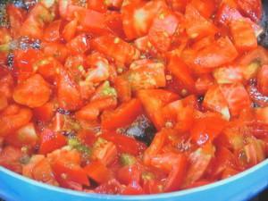 手づくりトマトケチャップで牛肉のスタミナ炒め