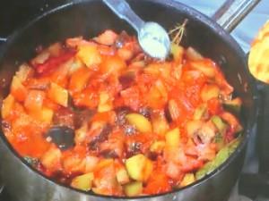 夏野菜のガレット