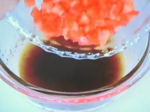 なすの山椒トマトソース