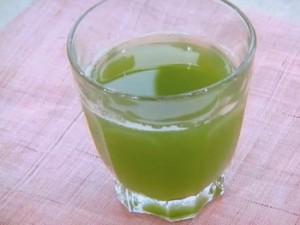 きゅうりでゆで鶏の緑酢あえ