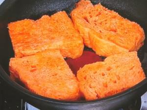 野菜ジュースのフレンチトースト
