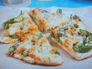鶏胸肉のピザ風