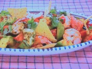 もこみち流 メキシコ風 エビとアボカドのサルササラダ