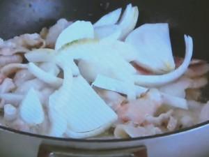 もこみち流 車麩入り豚丼