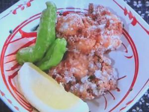 鶏の竜田揚げのおろし煮
