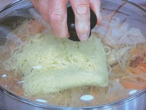 野菜たっぷり!焼きビーフン&麺