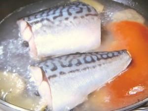 サバのみそ煮