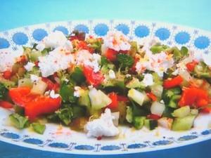もこみち流 トルコ式白チーズのサラダ