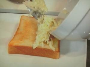 定番食パンでトロトロチーズトースト
