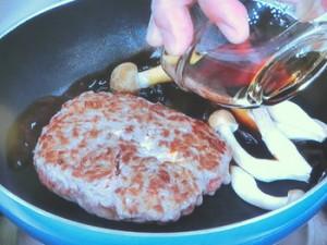 すき焼きハンバーグ
