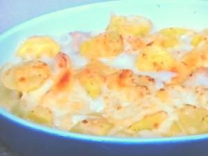 さつま芋と鶏肉のグラタン