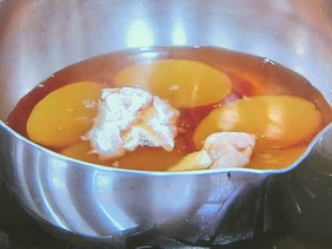 鶏おさつ煮