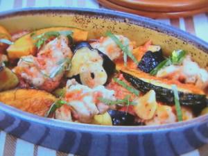 鶏肉と野菜の洋風揚げ浸し