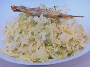 白菜自身のコクサラダ