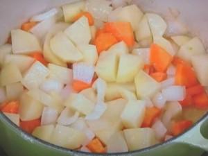 野菜だけのクリームシチュー