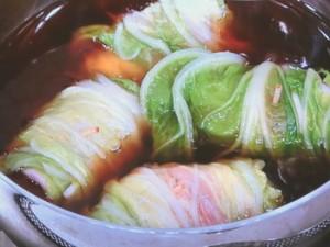 【農家のレシピ】ロール白菜しょうがあん