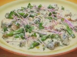 もこみち流 つぶ貝と野菜のクリーム煮