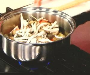 豚ももとパプリカの蒸し煮
